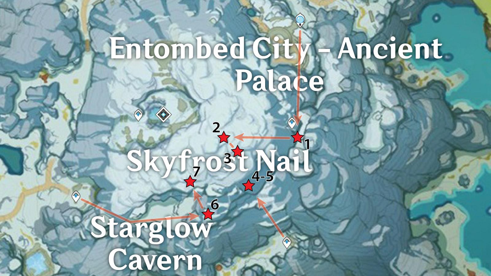 Skyfrost Nail – Underground Crimson Agate Locations