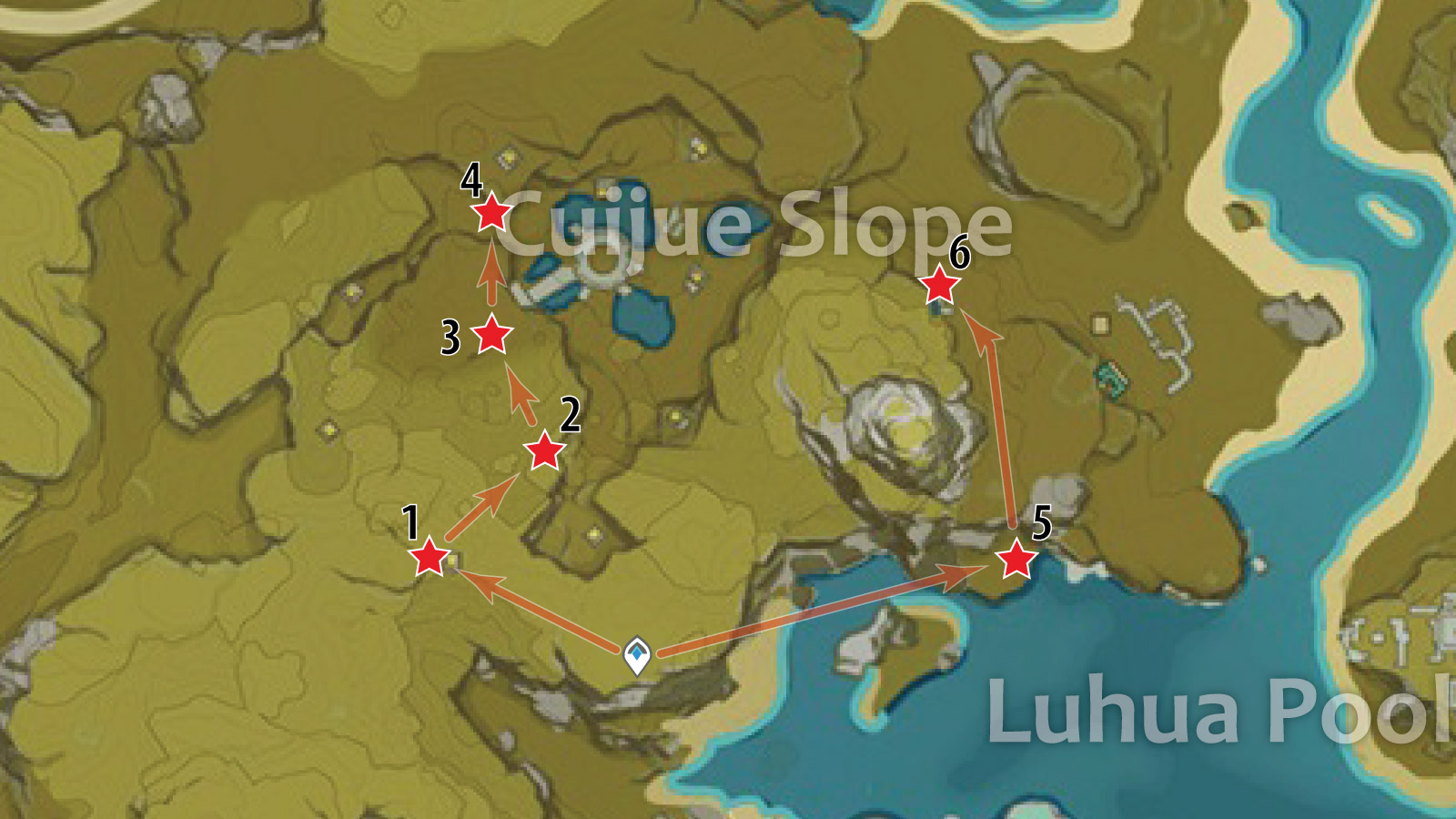 crystal chunk farm route