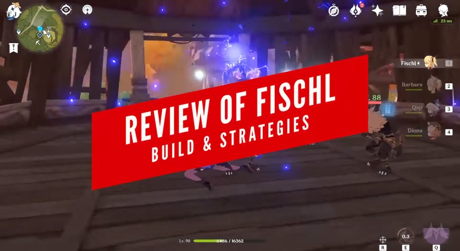 fischl build and strategy