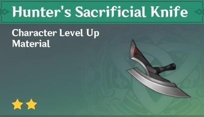 Hunter's Sacrificial Knife