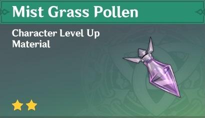 Mist Grass Pollen