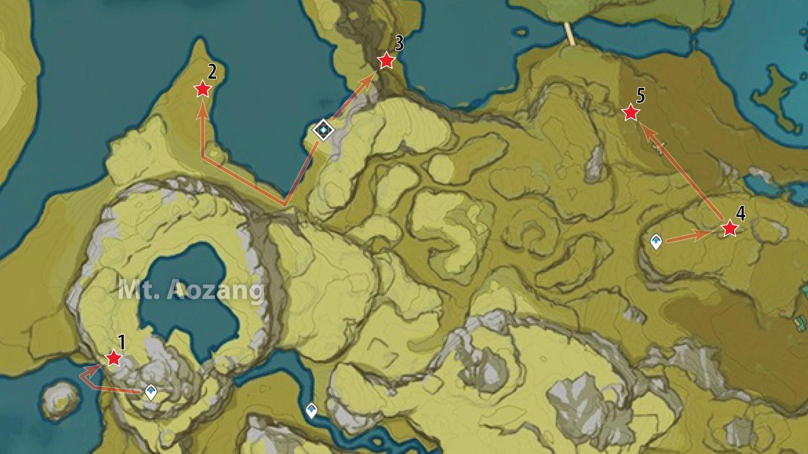genshin impact crystal chunk map