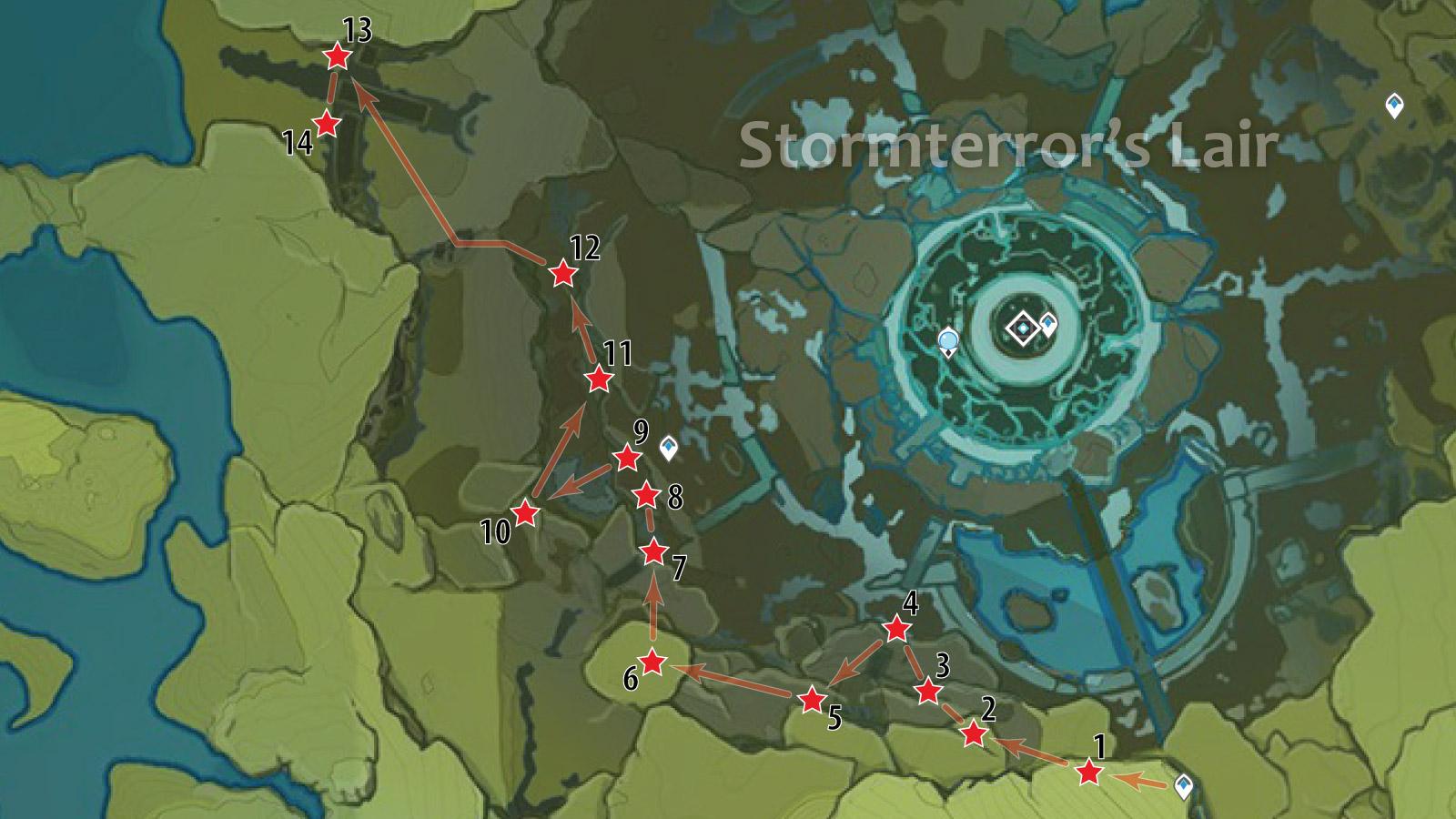 crystal chunk genshin impact location