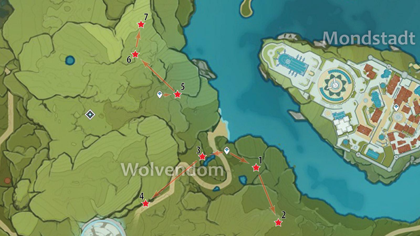 genshin impact crystal chunk locations
