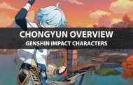 Chongyun Stats, Talent Upgrade, And Ascension Guide