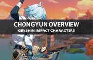 Chongyun Stats, Talents, Ascension Materials, And Ranking