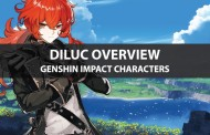 Genshin Impact Diluc Stats, Talent Upgrade, And Ascension Guide