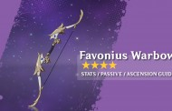 Favonius Warbow Stats And How To Get In Genshin Impact