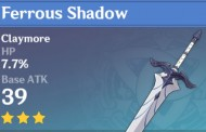 Ferrous Shadow | Genshin Impact Weapon Stats And Ascension Guide