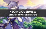 Genshin Impact Keqing Stats, Talent Upgrade, And Ascension Guide