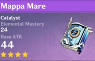 Mappa Mare | Genshin Impact Weapon Stats And Ascension Guide