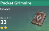 Pocket Grimoire | Genshin Impact Weapon Stats And Ascension Guide
