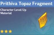 How To Get Prithiva Topaz Fragment In Genshin Impact