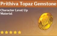 How To Get Prithiva Topaz Gemstone In Genshin Impact