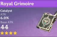 Royal Grimoire | Genshin Impact Weapon Stats And Ascension Guide