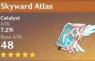 Skyward Atlas | Genshin Impact Weapon Stats And Ascension Guide