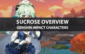 Genshin Impact Sucrose Stats, Talent Upgrade, And Ascension Guide