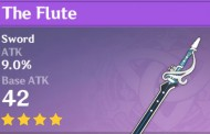 The Flute | Genshin Impact Weapon Stats And Ascension Guide