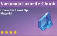 How To Get Varunada Lazurite Chunk In Genshin Impact