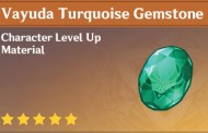 How To Get Vayuda Turquoise Gemstone In Genshin Impact