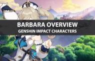 Barbara Stats, Talents, Ascension Materials, And Ranking