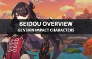 Beidou Stats, Talents, Ascension Materials, And Ranking