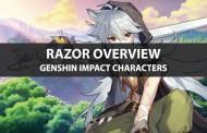 Razor Stats, Talents, Ascension Materials, And Ranking