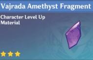 How To Get Vajrada Amethyst Fragment In Genshin Impact