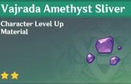 How To Get Vajrada Amethyst Sliver In Genshin Impact