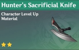 How To Get Hunter's Sacrificial Knife In Genshin Impact