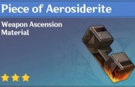 How To Get Piece of Aerosiderite In Genshin Impact
