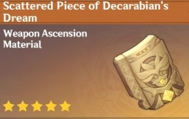 How To Get Scattered Piece of Decarabian's Dream In Genshin Impact