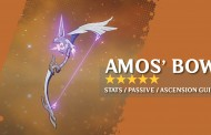 Amos' Bow Stats, Passive, And Ascension Materials