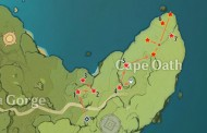 Cape Oath Chest Locations In Genshin Impact