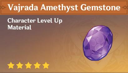 How To Get Vajrada Amethyst Gemstone In Genshin Impact