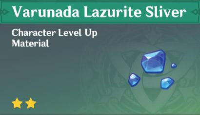 How To Get Varunada Lazurite Sliver In Genshin Impact