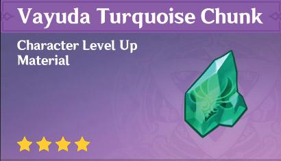 How To Get Vayuda Turquoise Chunk In Genshin Impact