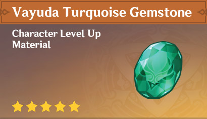 How To Get Vayuda Turquoise Gemstone In Genshin Impact