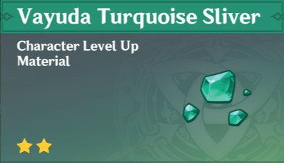 How To Get Vayuda Turquoise Sliver In Genshin Impact
