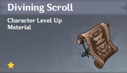 How To Get Divining Scroll In Genshin Impact