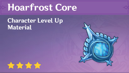 How To Get Hoarfrost Core In Genshin Impact
