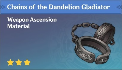 How To Get Chains of the Dandelion Gladiator In Genshin Impact