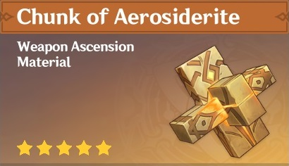 How To Get Chunk of Aerosiderite In Genshin Impact