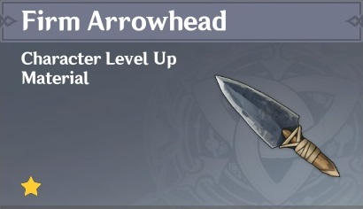 How To Get Firm Arrowhead In Genshin Impact