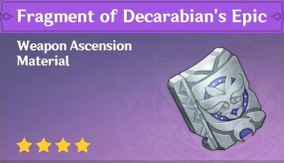 How To Get Fragment of Decarabian's Epic In Genshin Impact
