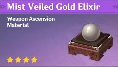 How To Get Mist Veiled Gold Elixir In Genshin Impact