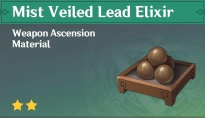 How To Get Mist Veiled Lead Elixir In Genshin Impact