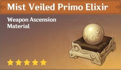 How To Get Mist Veiled Primo Elixir In Genshin Impact