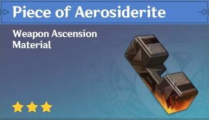 How To Get Piece of Aerosiderite In Genshin Impact