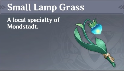 How To Get Small Lamp Grass In Genshin Impact